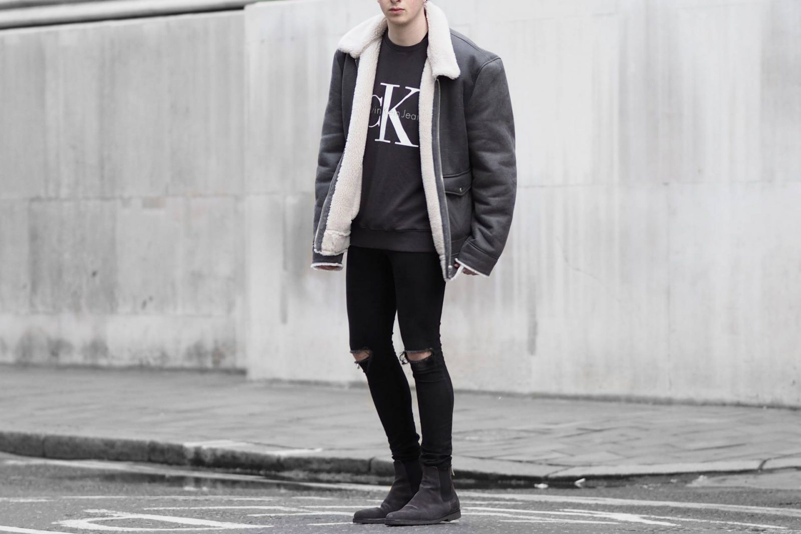 Oversized Shearling