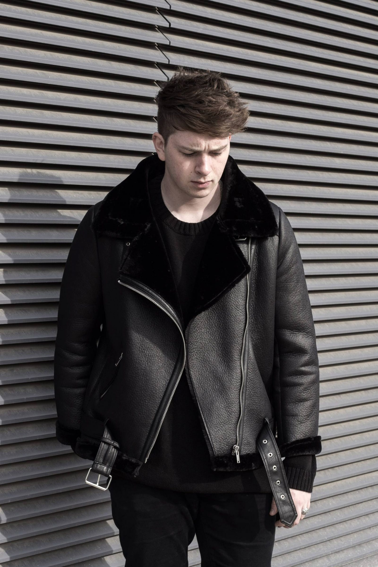 Ootd Zara Faux Shearling Jacket Gallucks