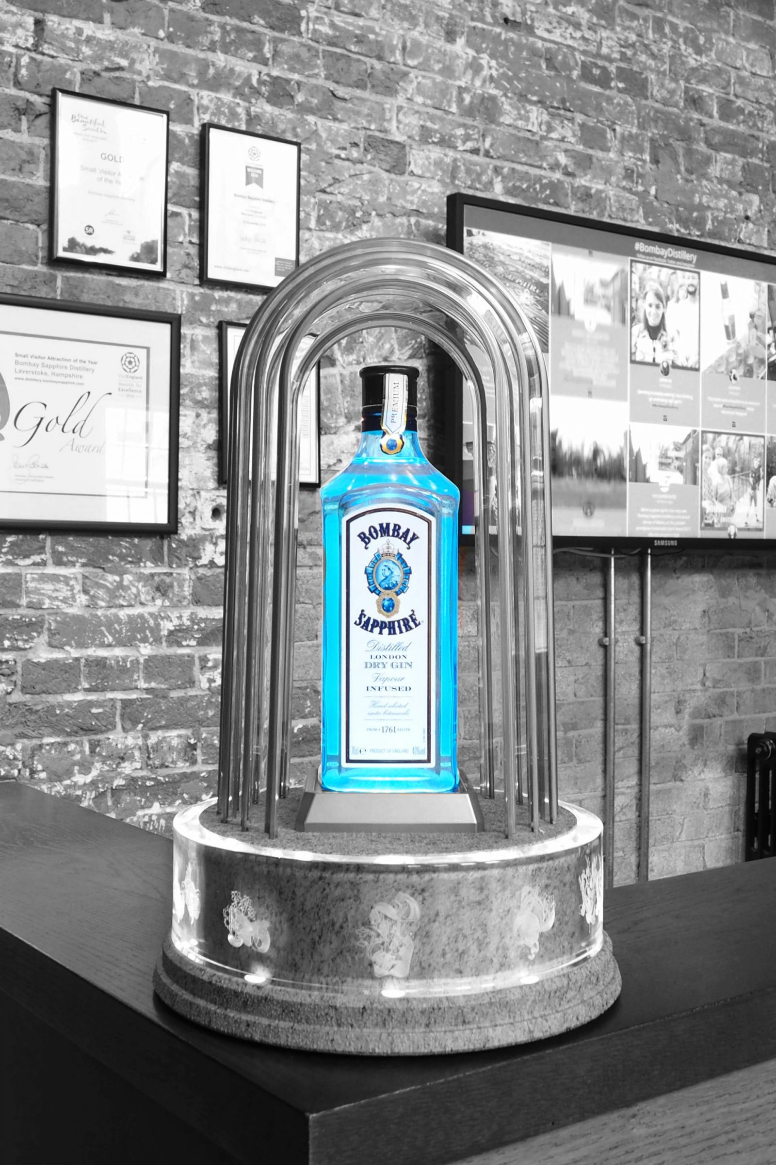 Glasshouses of Bombay Sapphire