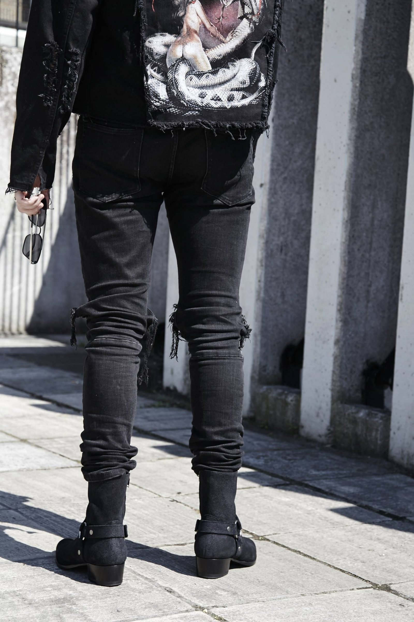 Black Polo Jacket