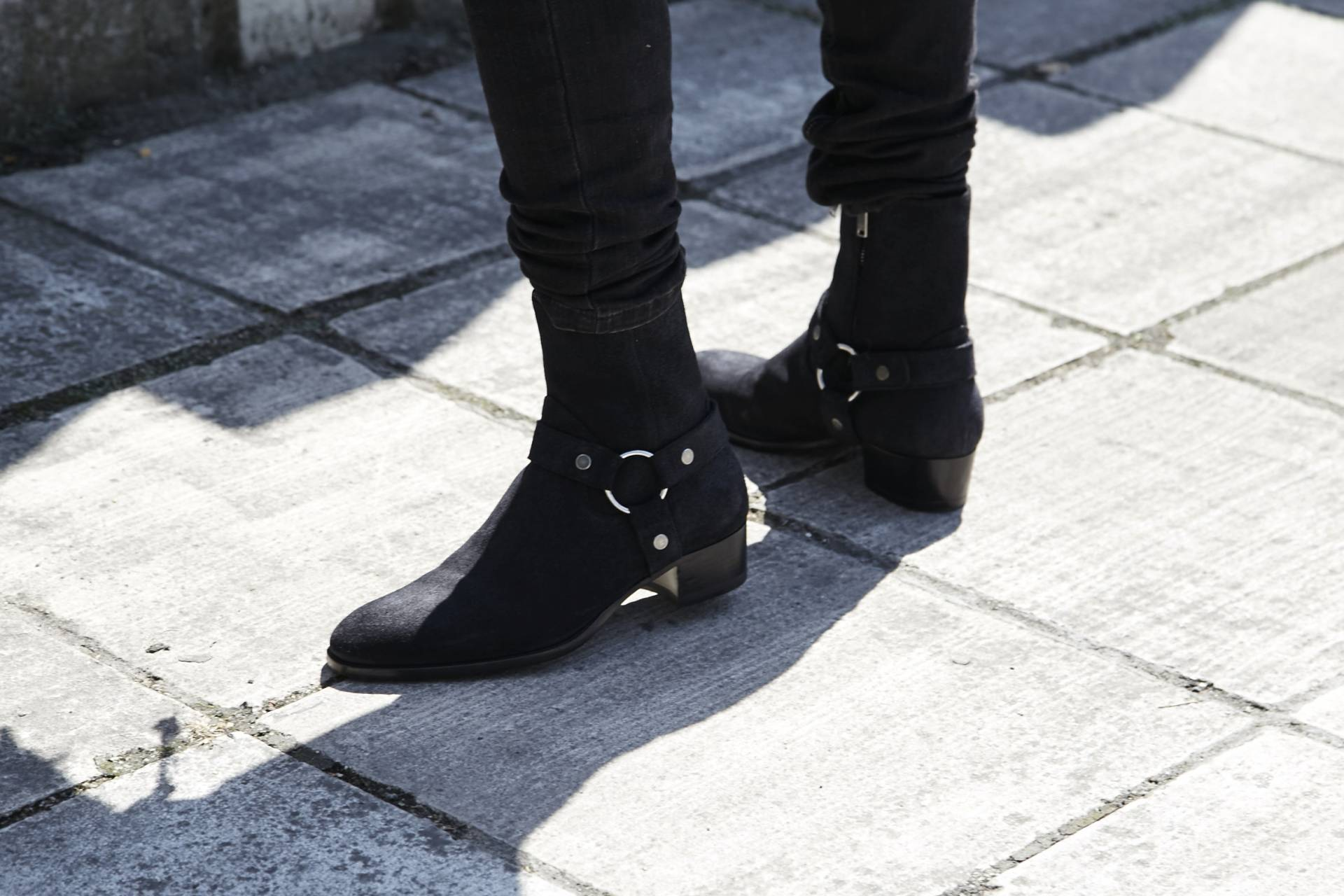 0ae4f9fe40e Saint Laurent Wyatt Boots - Gallucks